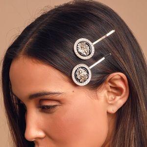 Lion Hair Pin Set